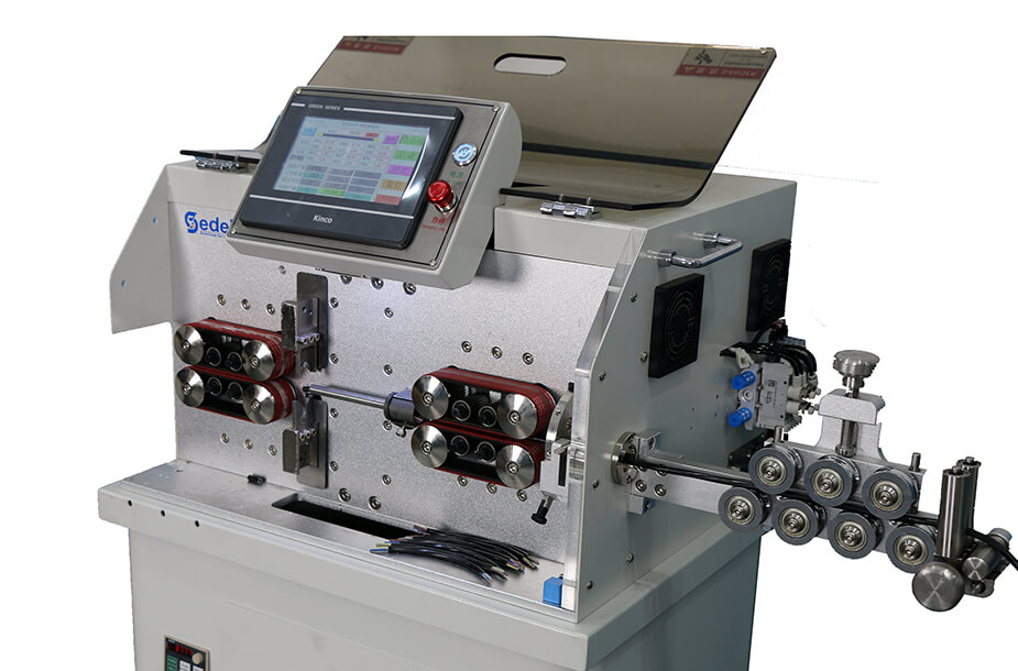 ESC-BX30 cable cut and strip machine