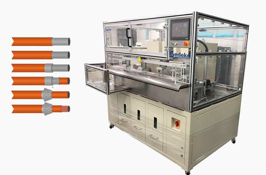 ACS-9200 Automatic Cable Shield Processing System